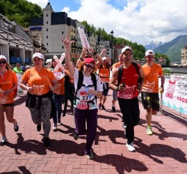 Фестиваль бега Rosa Run 2017