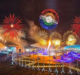 Отборочный этап Мирового чемпионата фейерверков 2017