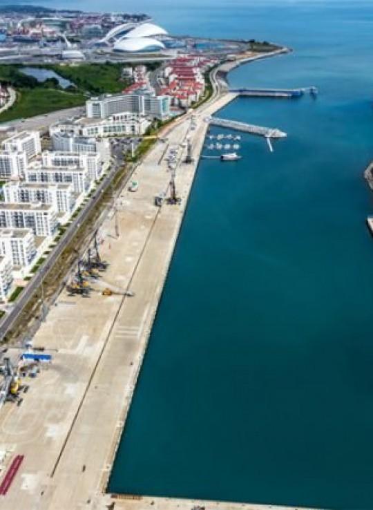 Сочинский порт «Имеретинский»