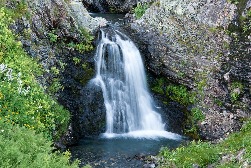 Водопад «Пслух»