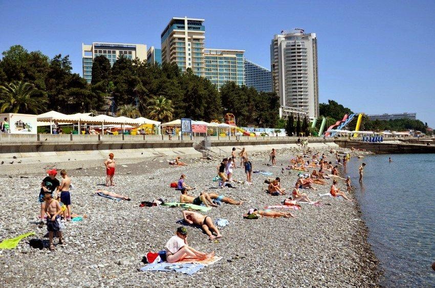 Пляж «Приморский»