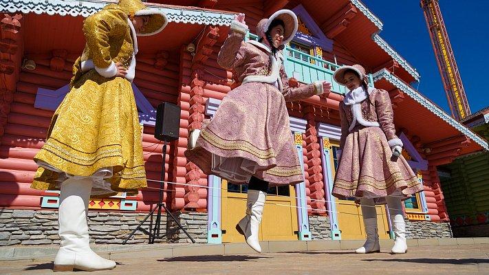Фестиваль дворовых игр вСочи Парке 2019