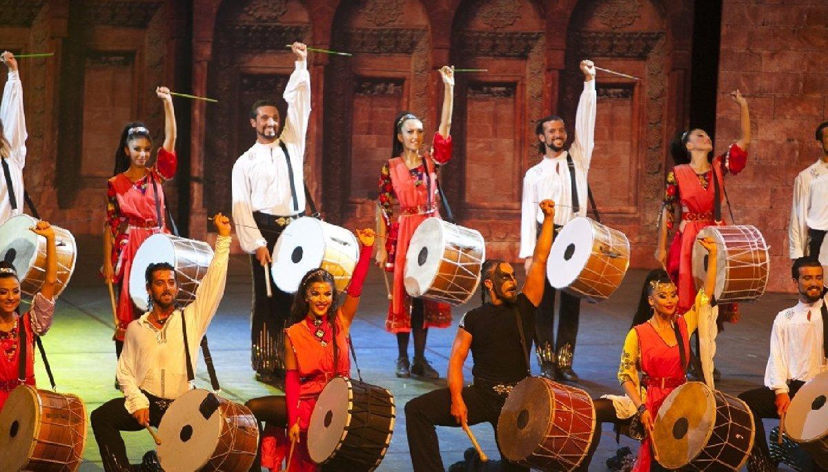 Античный турецкий фестиваль накурорте «Роза Хутор» 2017