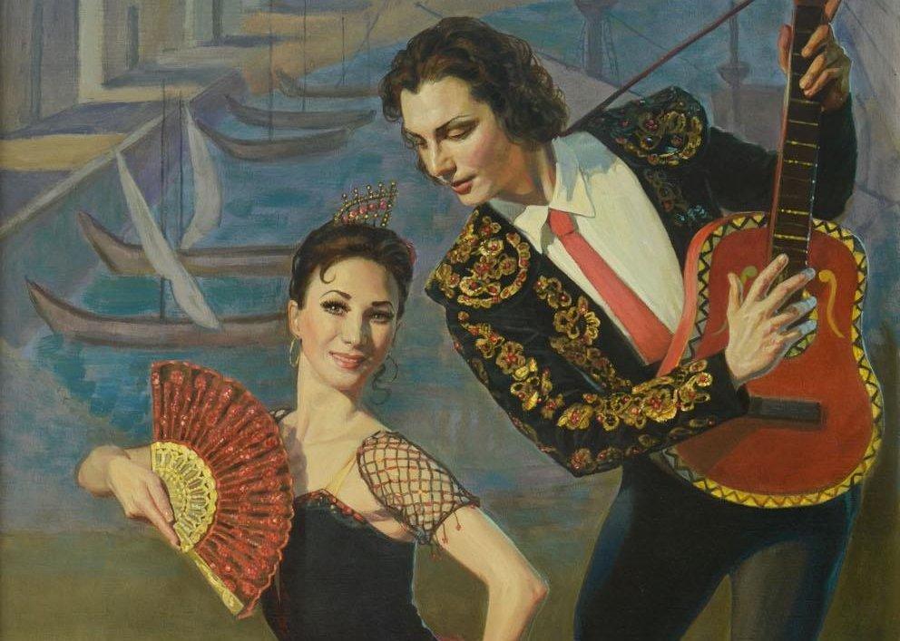 Выставка «Волшебный мир балета»