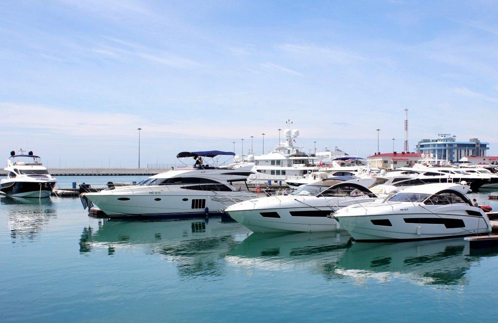 Выставка яхт икатеров Sochi Yacht Show 2018
