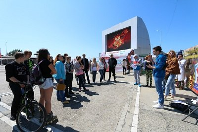 Квест городского ориентирования вчесть 72-летия Великой Победы