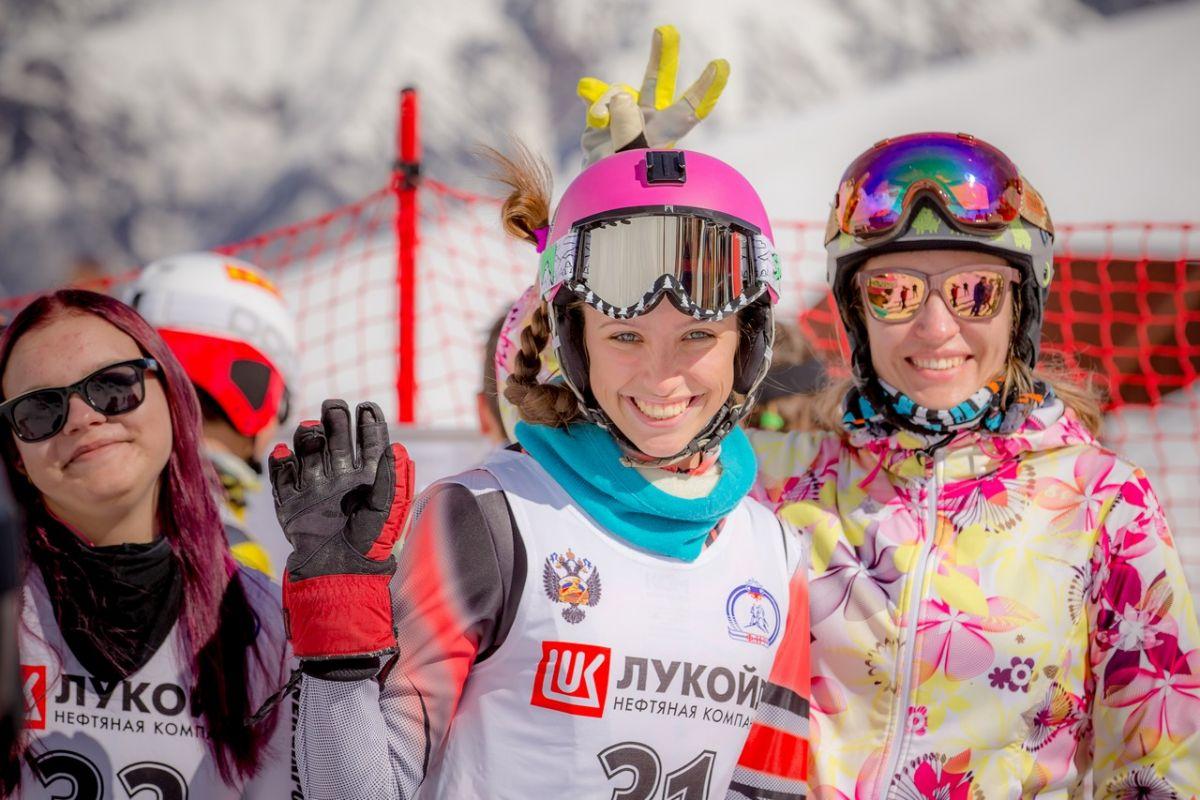 Городские соревнования погорным лыжам 2017