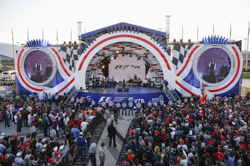 Развлекательная программа нагонках «Формула-1» 2018