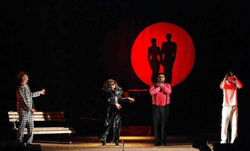 Спектакль «Мастер иМаргарита» наРоза Хутор 2018