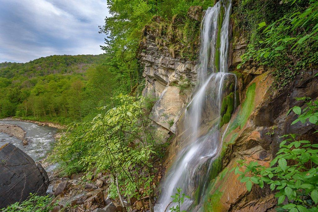 Водопад Псыдах иШапсуг