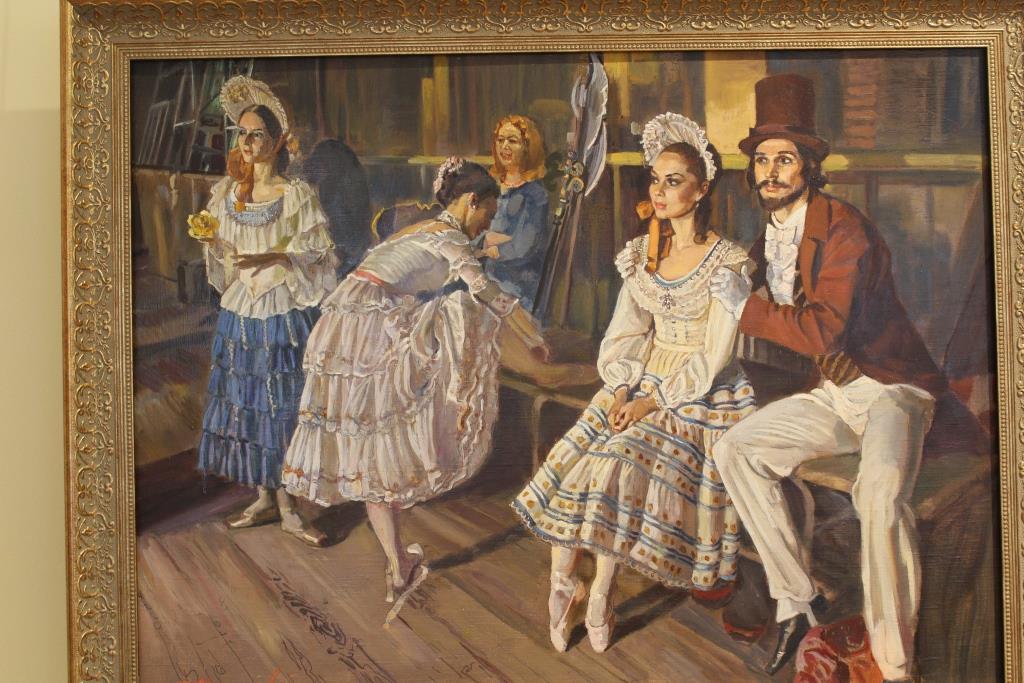 Выставка «Грация Русского балета»