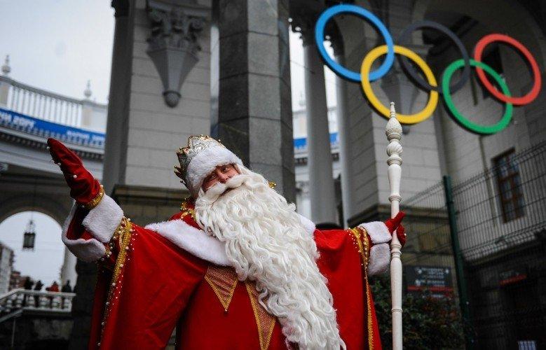 Новогоднее шоу вОлимпийском парке 2017