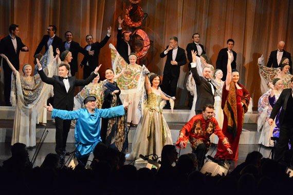Гала-концерт русских песен «Калинка-опера» 2017