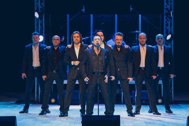 Концерт «Хор Турецкого» вСочи 2017