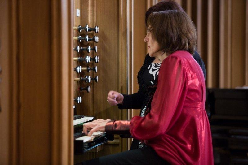 Концерт органистки Анны Мокровой 2017