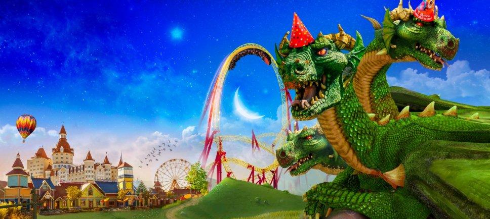 День рождения Змея Горыныча вСочи Парке 2019