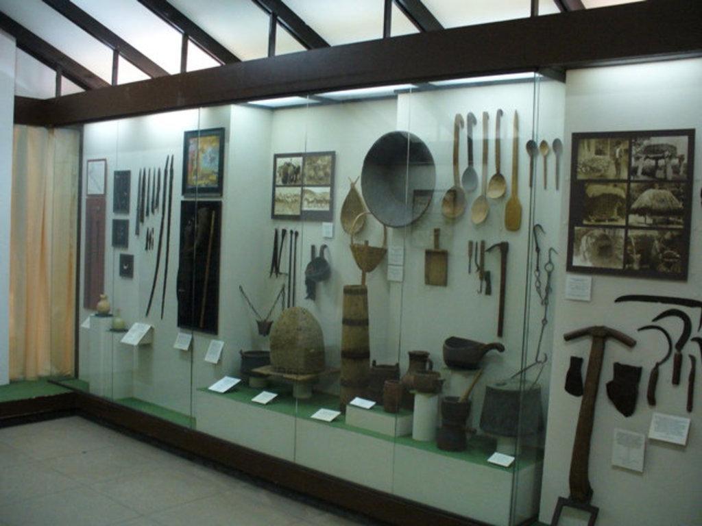 Этнографический музей впоселке Лазаревское