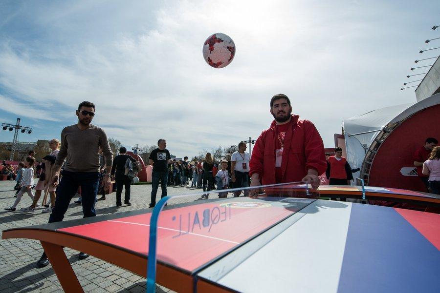 Парк Кубка Конфедераций FIFA 2017 вСочи