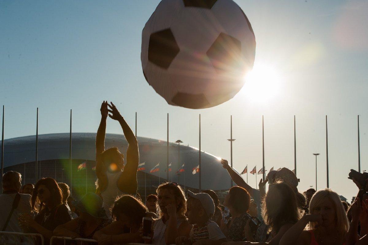 Фестиваль болельщиков FIFA вСочи 2018