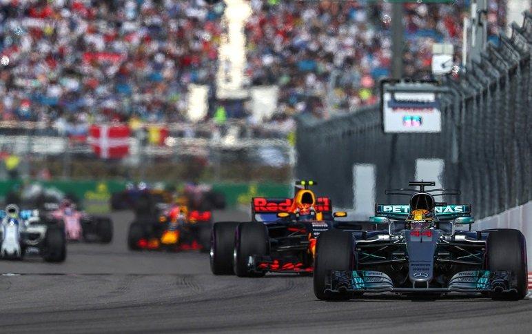 Парк болельщиков «Формулы 1» 2018
