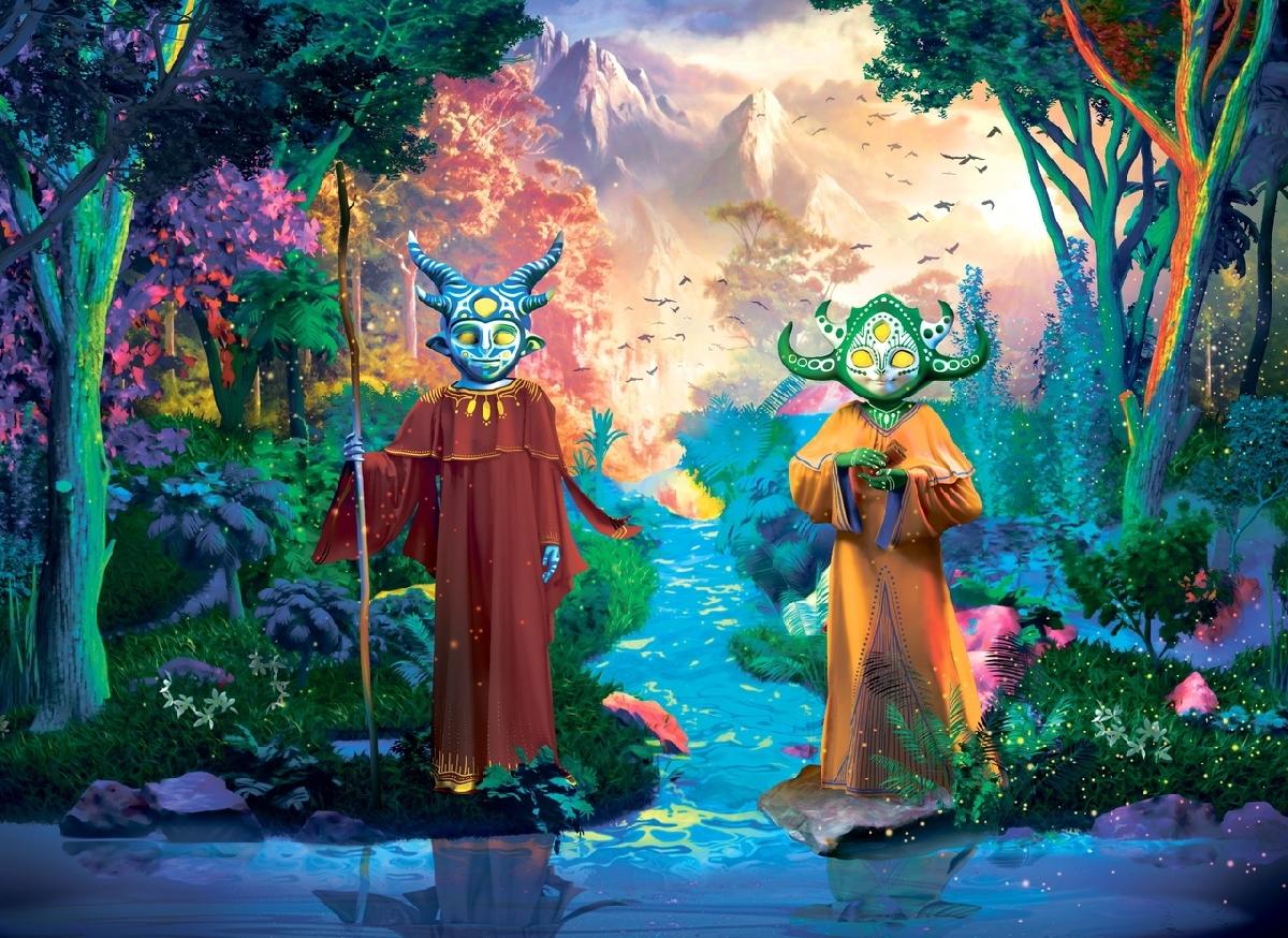 Выставка наоткрытом воздухе «Сад Света. Легенда одруидах»