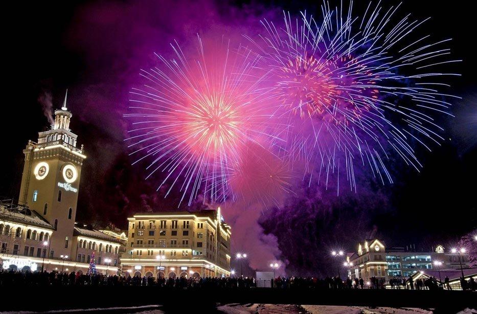 Новогодние каникулы на«Роза Хутор» 2018/19