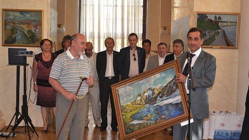 Выставка «Художники России– зачистую воду»