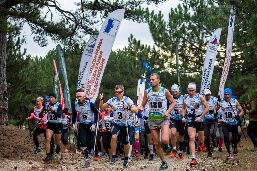 Соревнования поскайранингу «Rosa Vertical Kilometer» 2017