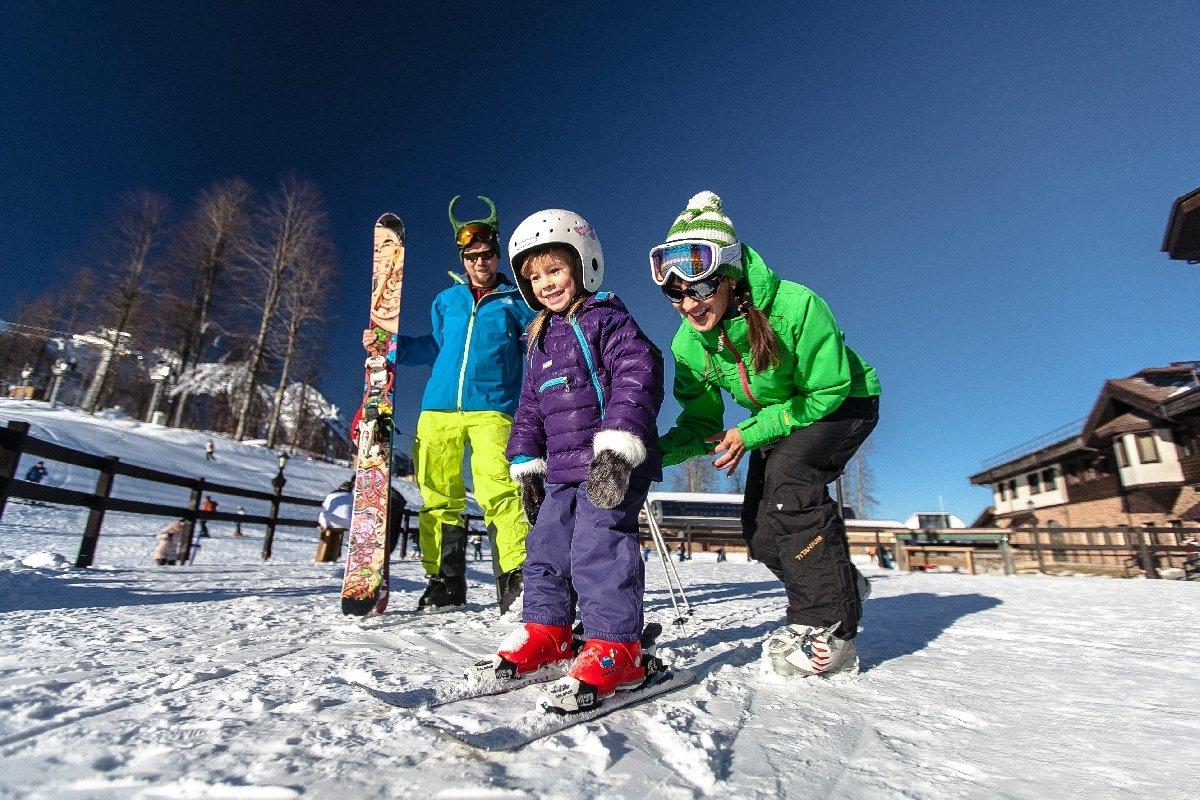 Детский турнир погорным лыжам исноуборду 2018