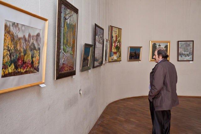 Выставка работ местных мастеров