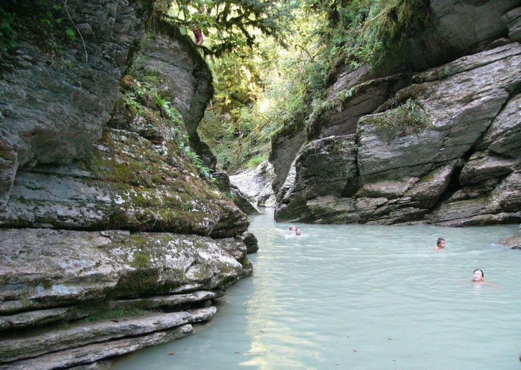 Каньоны реки Псахо