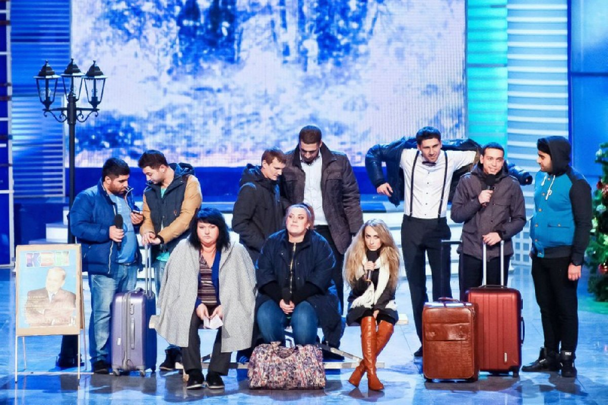 Шоу команды КВН «Городъ Пятигорскъ» 2019