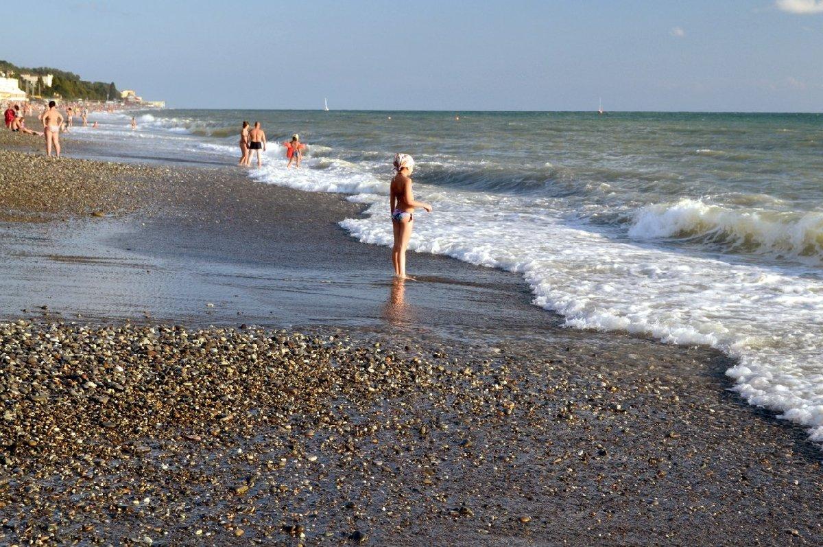 Пляж «Прозрачный»