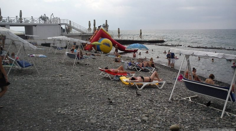 Пляж Мориса Тореза