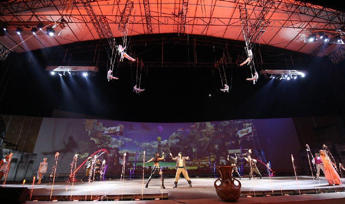 Театрально-цирковое шоу «Морские дьяволы» 2017