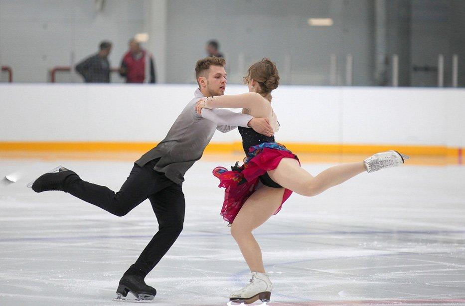 Краевые соревнования пофигурному катанию 2018