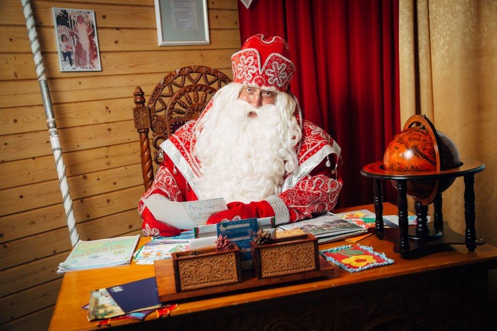 Дед Мороз изВеликого Устюга вСочи 2017