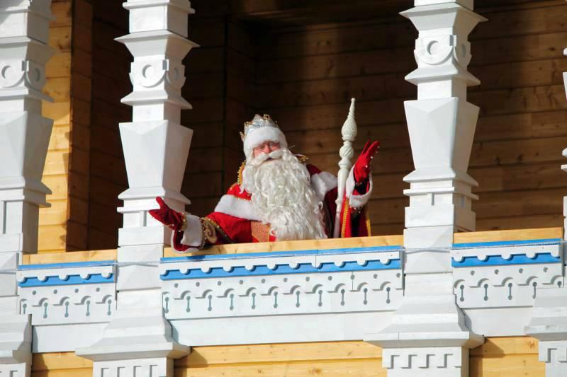 Южная резиденция Деда Мороза впарке «Дендрарий» 2020/2021