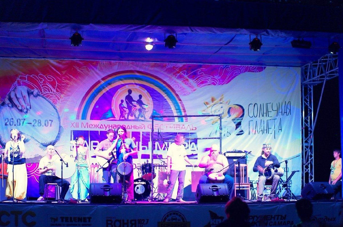 Фестиваль «Барабаны мира вСочи» 2017