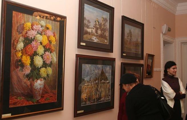 Выставка «Волшебство акварели. Мастер иученик»