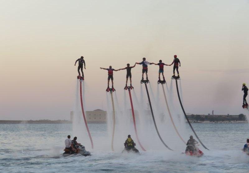 Водно-экстремальный фестиваль «Флайборд Рекорд» 2017