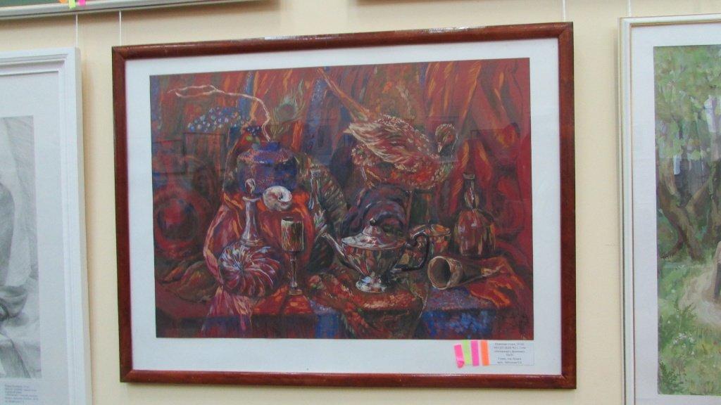 Выставка-конкурс творческих работ «Весенняя палитра– 2018»