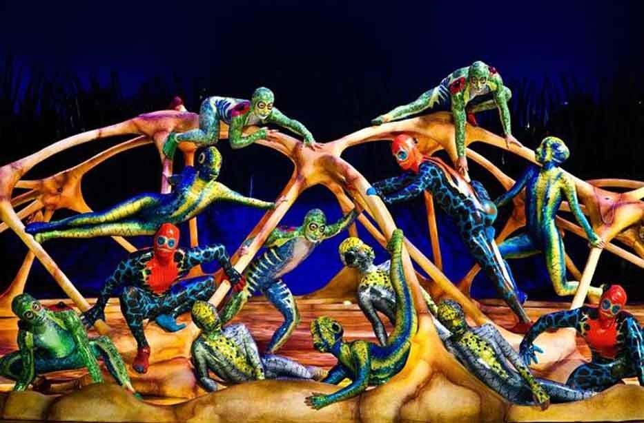 Шоу Cirque duSoleil «Totem» 2017