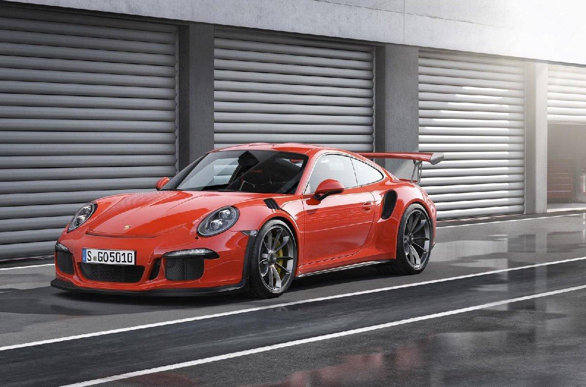 Гоночное такси наPorsche 911 GT3 2018