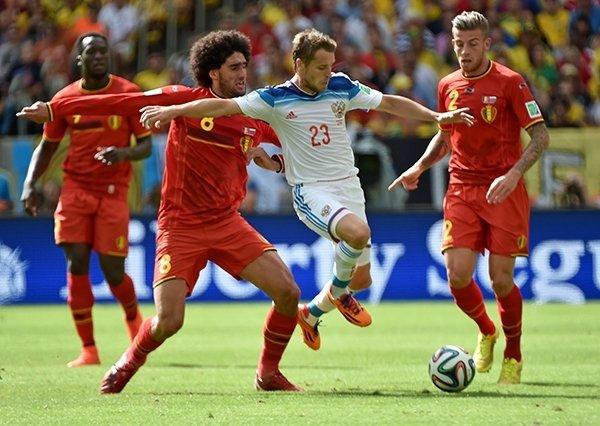 Футбольный матч «Россия»— «Бельгия» 2017