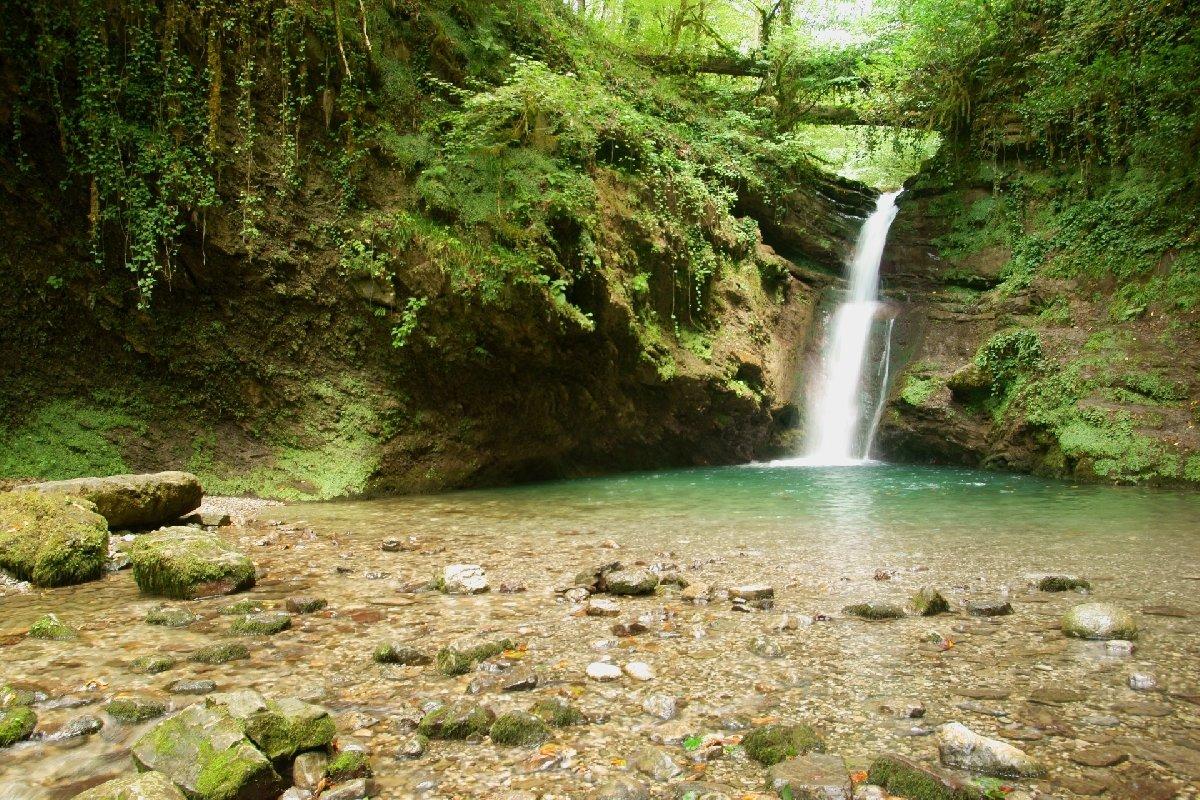 Водопад «Ивановский»