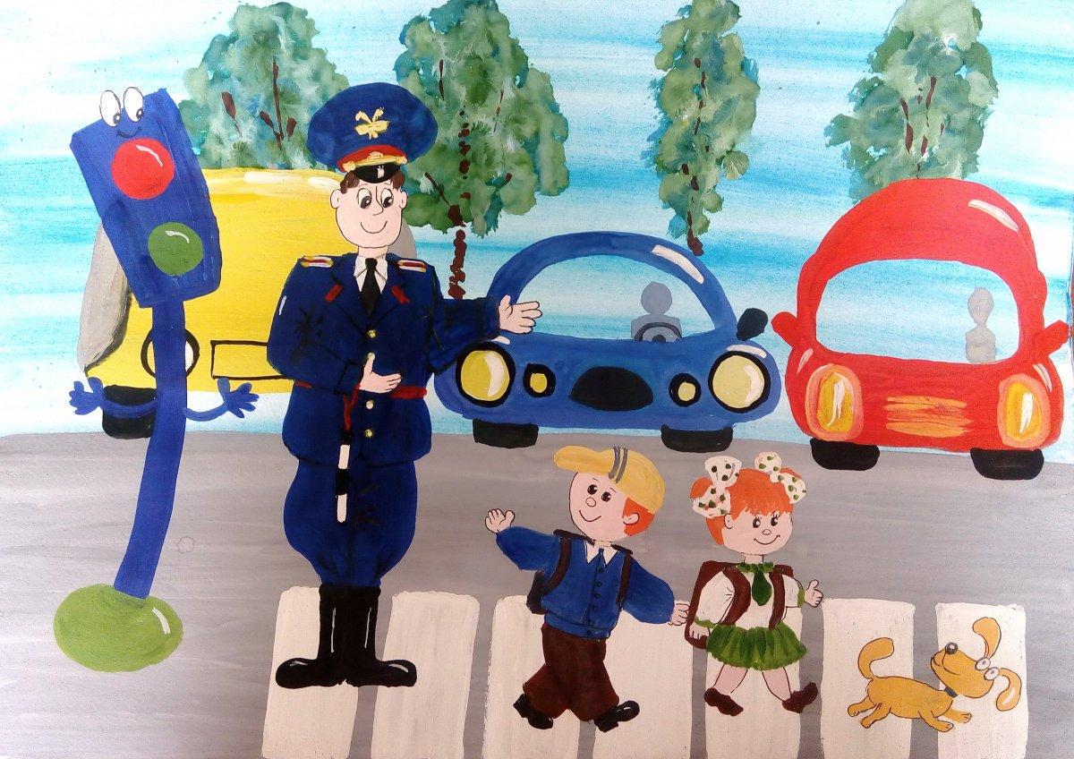 картинки на тему дорожного движения на конкурс образом