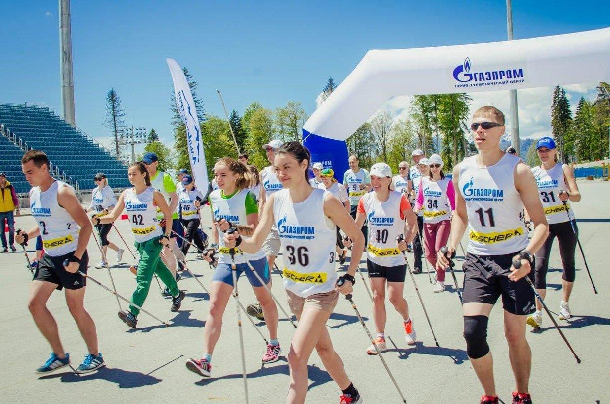 Открытые соревнования поскандинавской ходьбе 2018