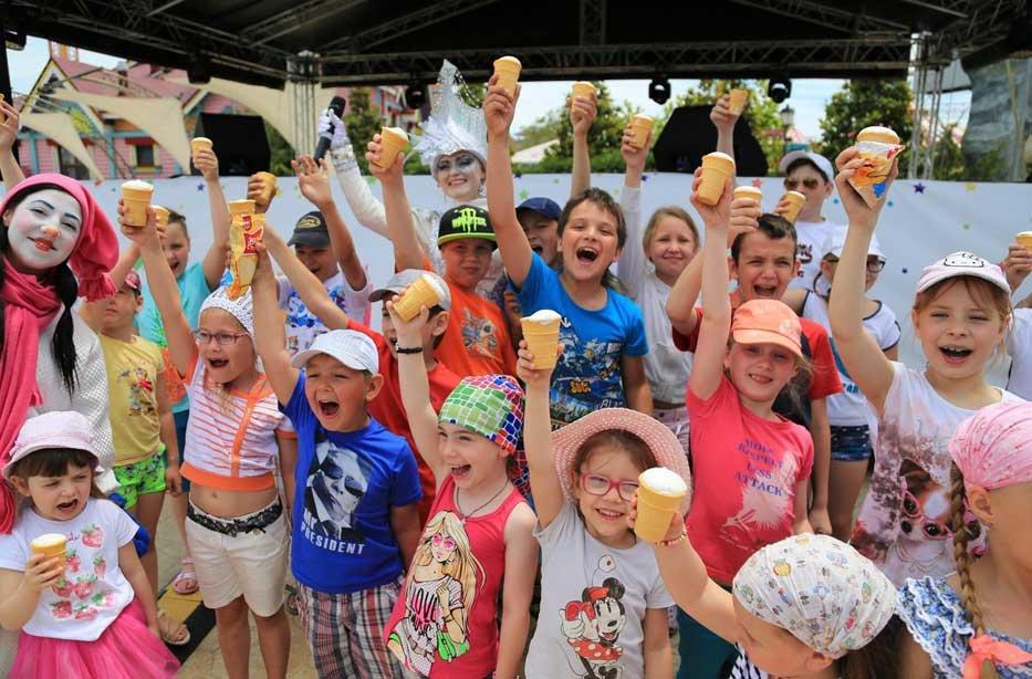 Всемирный день мороженого вСочи Парке 2017