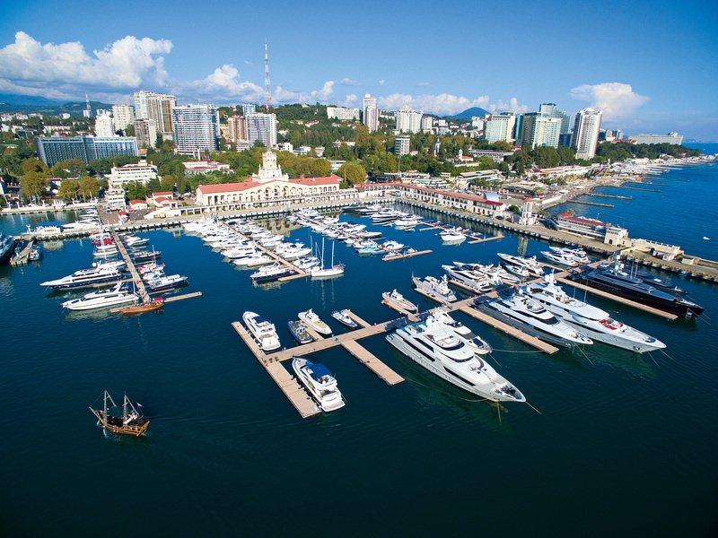 Выставка яхт икатеров Sochi Yacht Show 2017